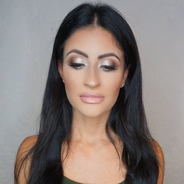 Clean glam on this beauty!! 💕 _Mua_ #Marlyn_V _Foundation_ _beccacosmetics ever matte foundation mi