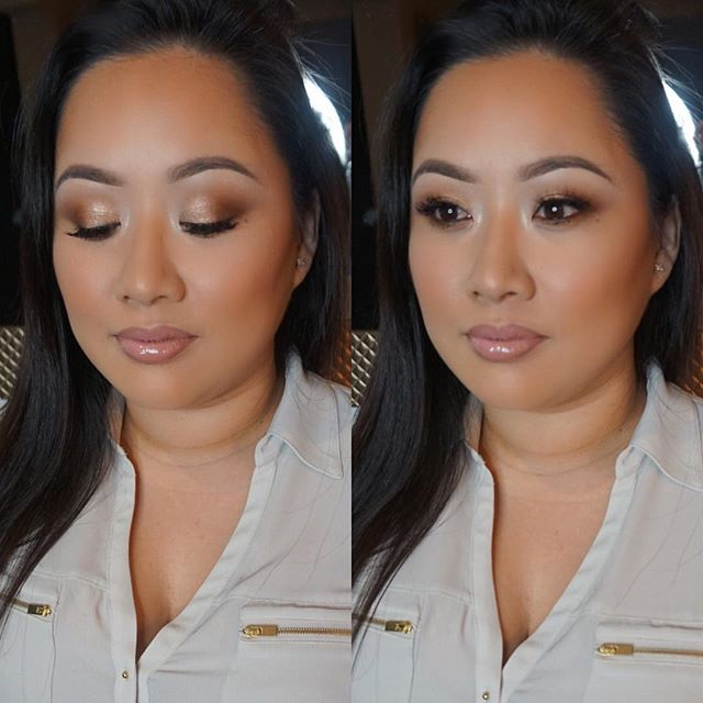 Glammed this mommy to be! 💕  Makeup deets:  Brows: @anastasiabeverlyhills  Eyes: #Mac uninterrupted