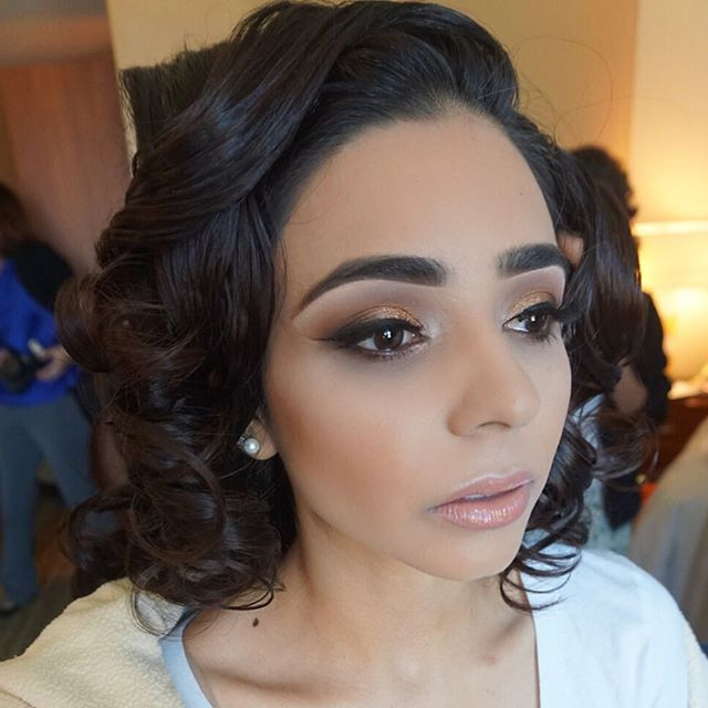 Love sharing my favorite looks from my wedding weekends!💞Obsessed with her eyes and brows!! Mua: #m