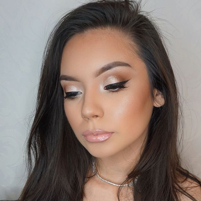 Eye Deets on this beauty! 💗 Thank you for a the sweet comments on this look! _Mua_ #Marlyn_V _Brows