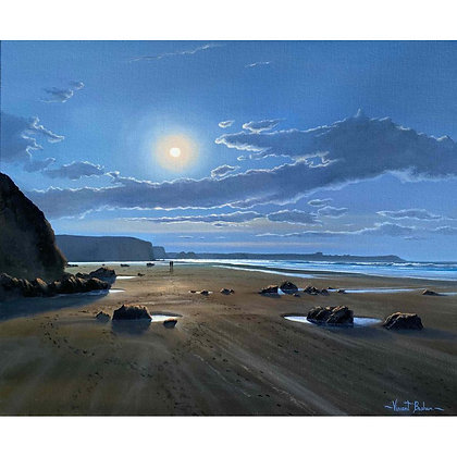 Moonlight Walk, Watergate Bay