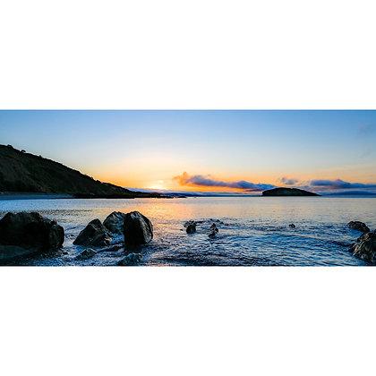 Looe Bay Sunrise - Wide