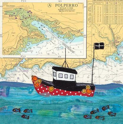 Fishing at Polperro