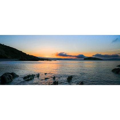 Dawning over Looe Bay - Wide