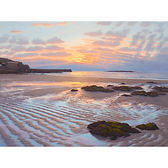Serene Sunset, Sennen Harbour, West Penwith