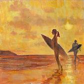 Sunset Surf, Polzeath