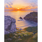 Watching the Sunset at Cape Cornwall