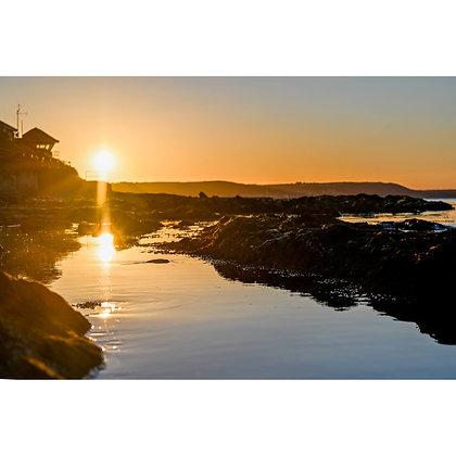 HM Coastgaurd Lookout over Looe Bay