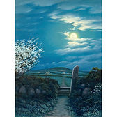 Moonlight on Blackthorn, West Penwith