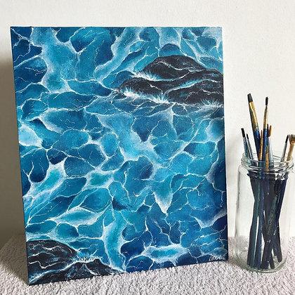 Foamy Seas