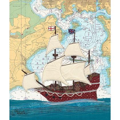 Mayflower at Cawsand Bay