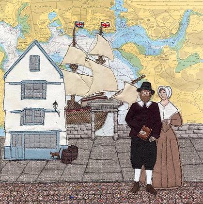 Pilgrims at Plymouth