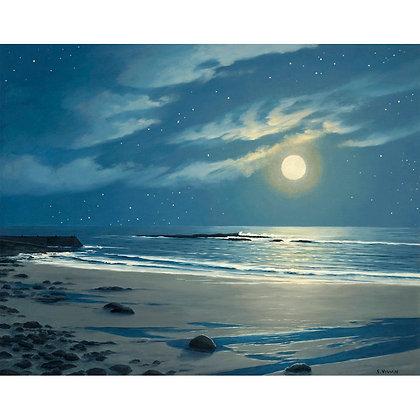 Stars Falling into a Silver Sea, Sennen. West Penwith