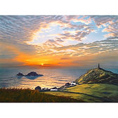 The Homecoming. Sunset at Cape Cornwall