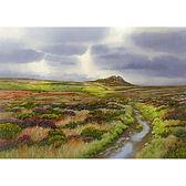 Stormy Skies over Carn Galver, West Penwith