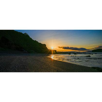 Portnadler Beach at Sunrise - Wide
