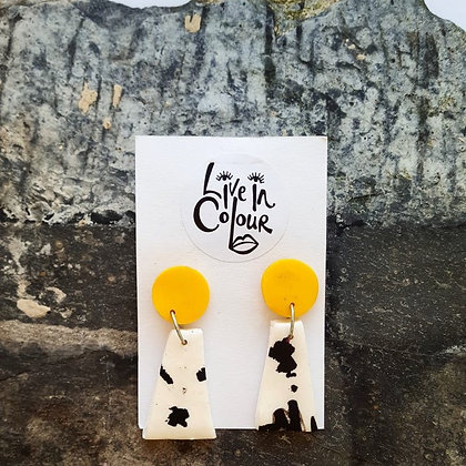 Cow Print - Yellow