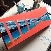 Abstract HolyWell Bay - Cornwall
