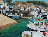 Greetings Card- Padstow Harbour