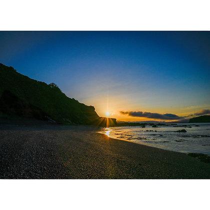 Portnadler Beach at Sunrise