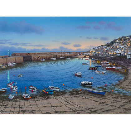 Autumn Evening Lights, Mousehole, West Penwith