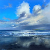 Stormy Clouds Over Godrevy II