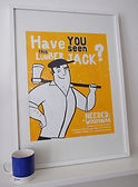 NEEDED - Two Colour A2 Screen Print