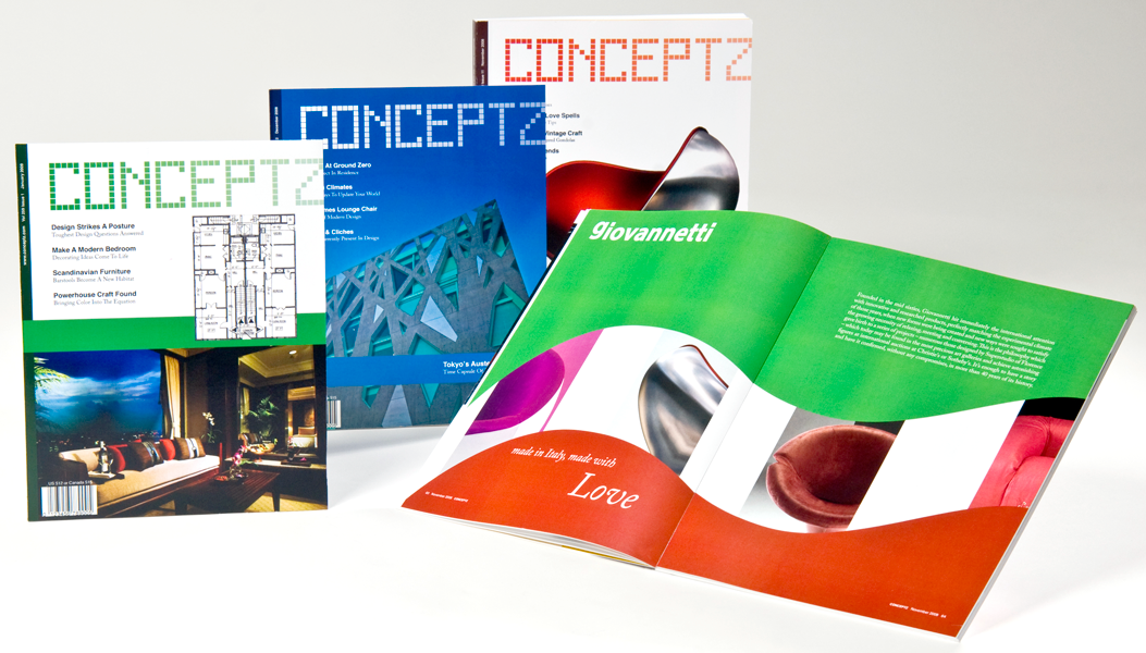 Conceptz Magazine Design