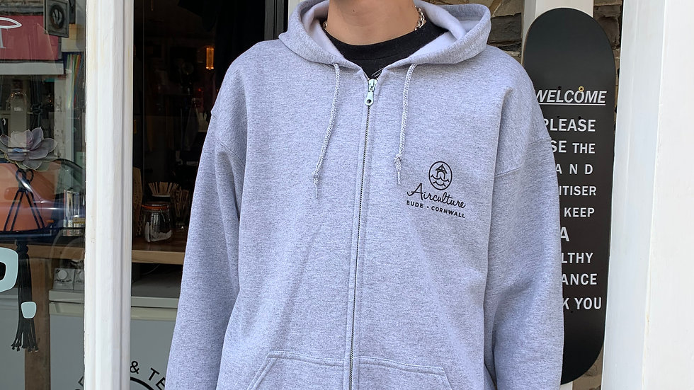 Porch Mini Logo Zip Hoody