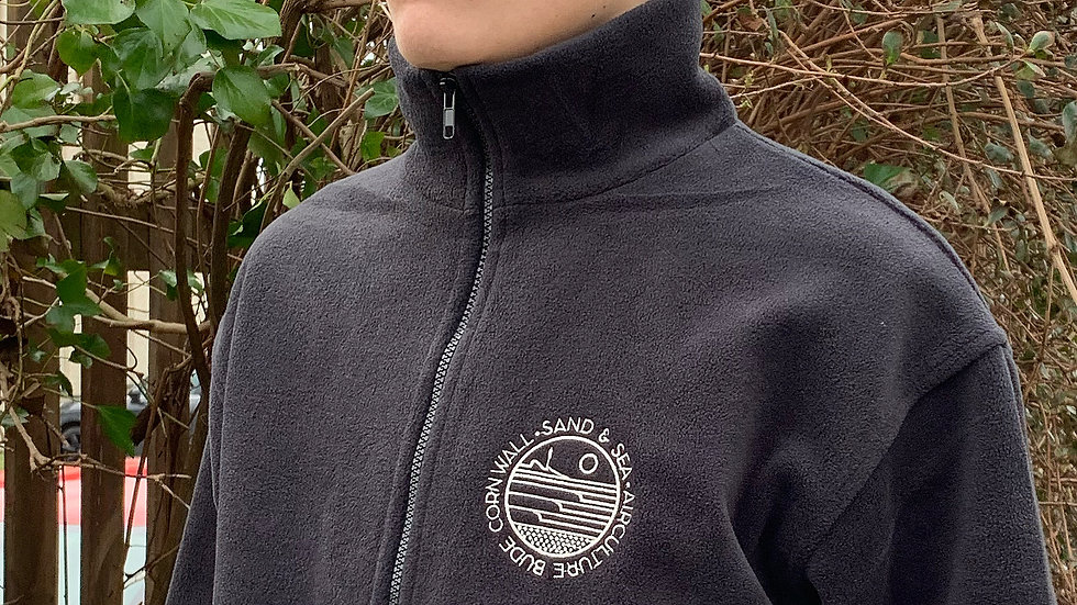 Sand & Sea Zip Fleece