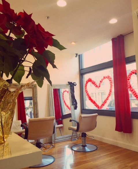 Getting Valentines day festive here at Southie Roots!