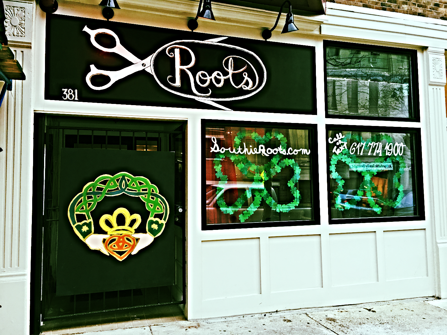 Southie Roots Salon St. Pattys Day
