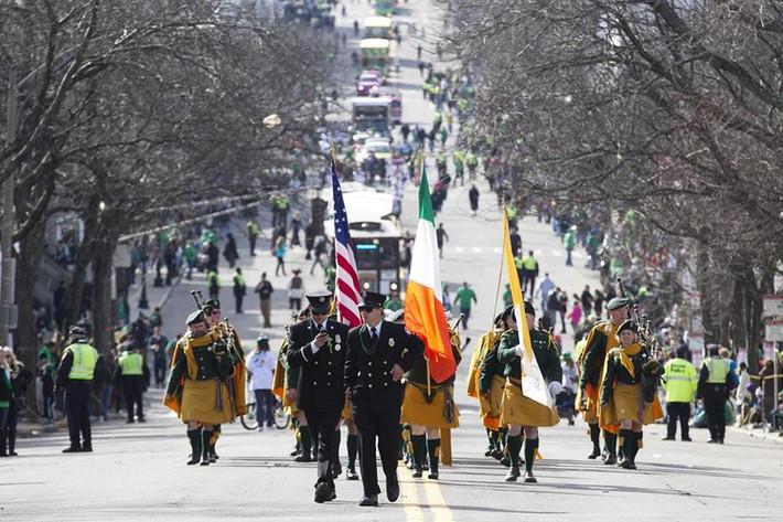 St Patrick's Day in Boston