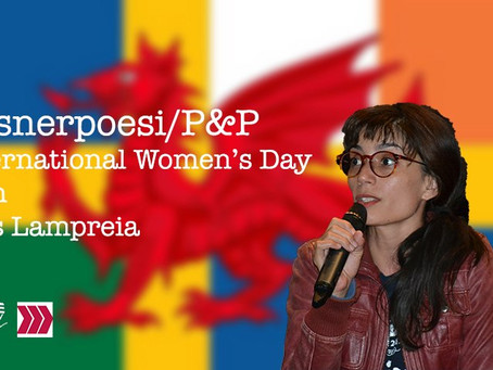 Poems and Pints / Pilsnerpoesi, 8 mars med Inês Lampreia