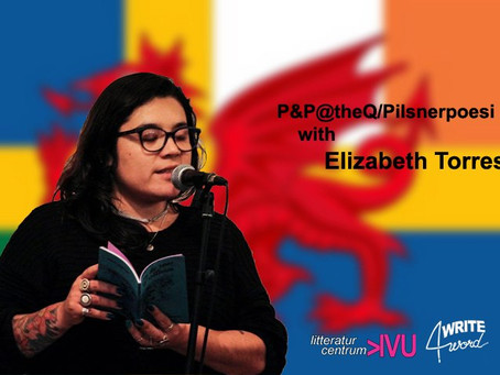 Aug 3, P&P@theQ/Pilsnerpoesi with Elizabeth Torres