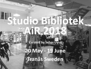 Studio BibliotekAiR 2018 (20 May to 19 June 2018)