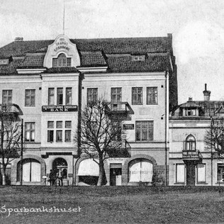 Gamla Sparbankshuset (Synsam) audioguide med Magnus Grehn