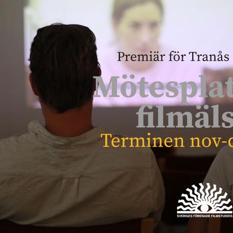 Premiär för Tranås Filmstudio 5 nov
