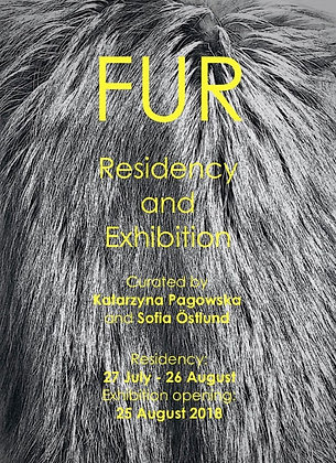 """Fur"" Residency and exhibition (27 July 2018 – 26 August 2018)"