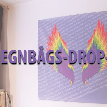 Regnbågs-drop-in