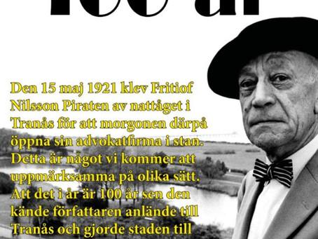 Fritiof Nilsson Piraten 100 år i Tranås