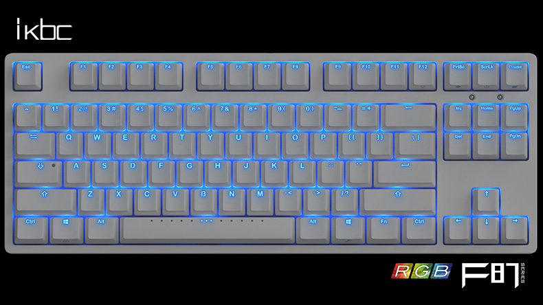 ikbc keyboard F87 RGB