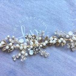 bridal hair vine 'kiera'
