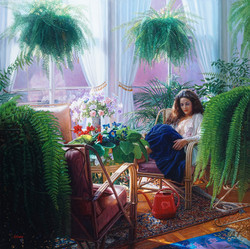 In the Solarium-48''x48'' 2014