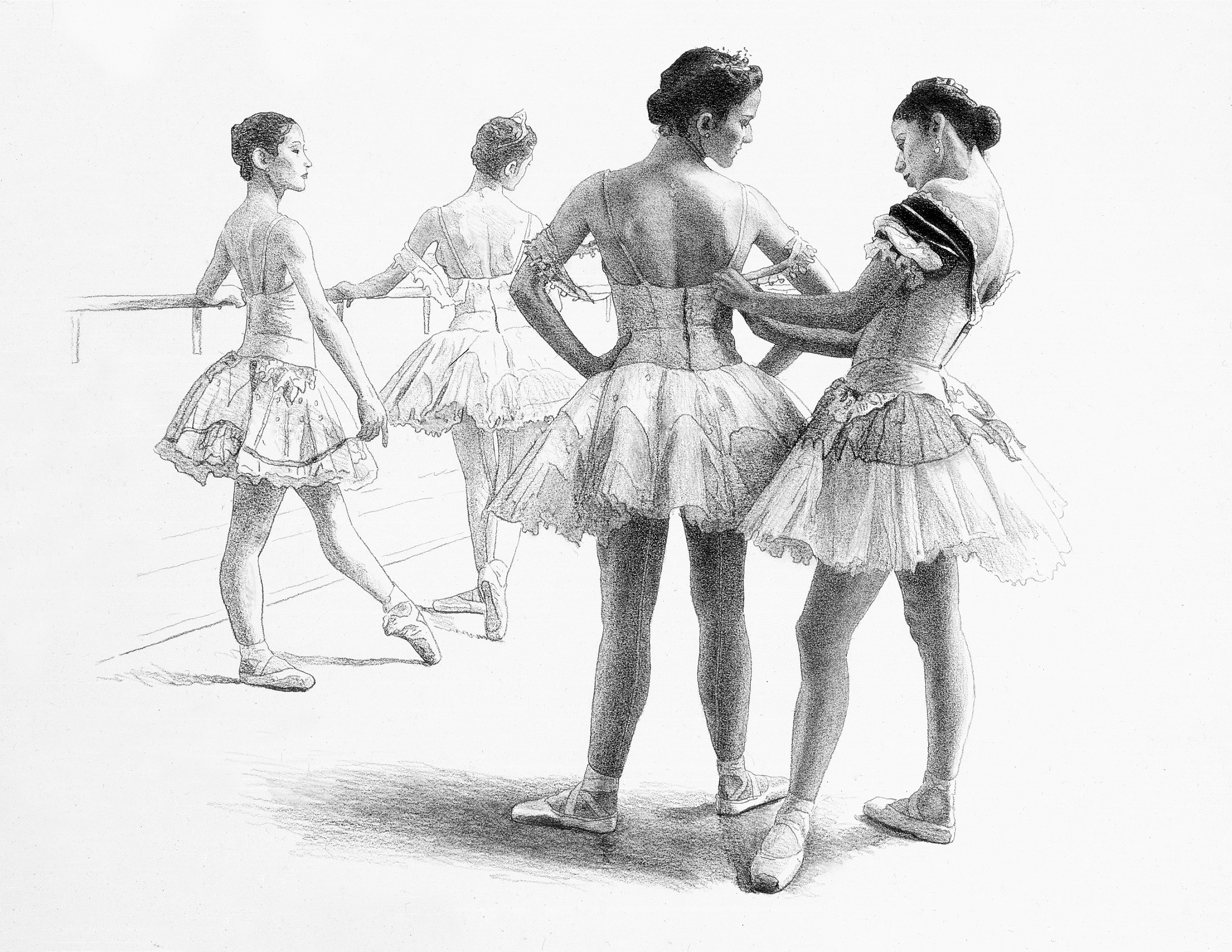 Dancers-11''x14''