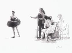 Ballet Mistress-pencil