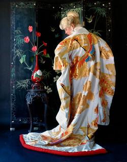 White Kimono-40''x48''