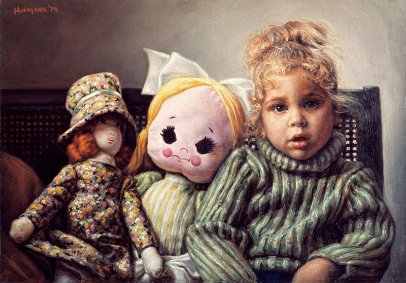 Dolls-16''x20'' 1974