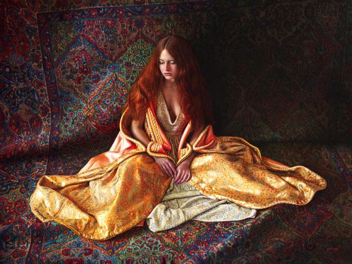 Magic Carpet Ride-40''x48''