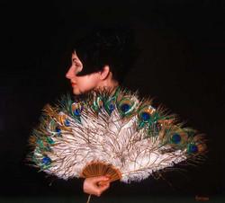 Peacock Fan-1996